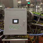 ASAP technology on a working washline.