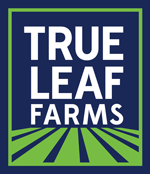 Logo for True Leaf Farms.